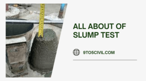 all about of Slump Test