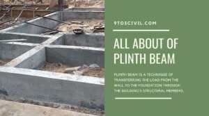 all about of plinth beam
