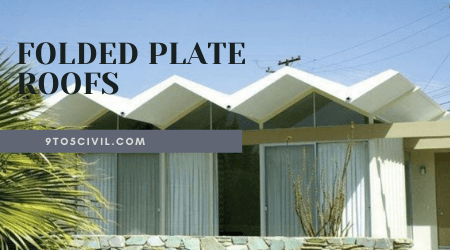 FOLDED PLATE ROOFS