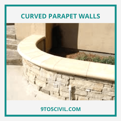 Curved Parapet Walls