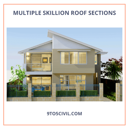 Multiple Skillion Roof Sections