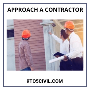 Approach a Contractor