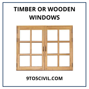 Timber or Wooden Windows (1)