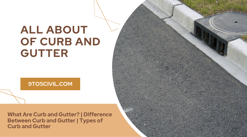 all about of Curb and Gutter