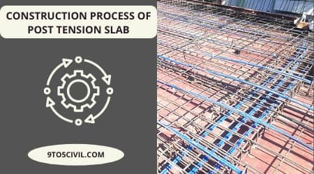 Construction Process of Post Tension Slab
